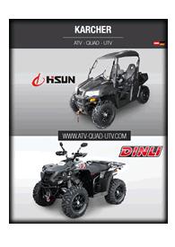 Hisun Quads Produktkatalog