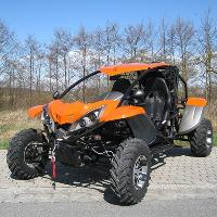 Luck Vehicle 600 EFI 4x4 Orange