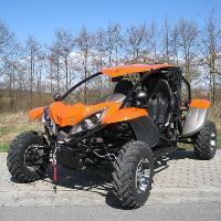 Luck Vehicle 600 EFI 4x4 Orange
