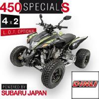 450 Spezial S 4 x 2 Onroad Schwarz - Grün