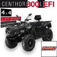 800 Centhor L EFI  4 x 4 Offroad Schwarz
