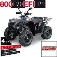 800 EVO EFI EPS 4 x 4 Offroad Schwarz