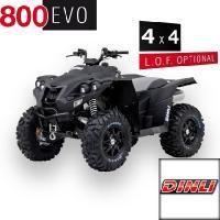 800 EVO 4 x 4 Offroad Schwarz - Matt