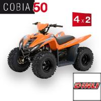 Cobia 50 Kids 4 x 2 Offroad Orange