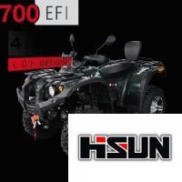 700 EFI Schwarz