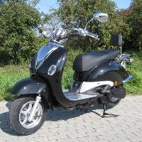 Retro Roller 1500 Schwarz