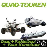 Kombitour Quad + Powerboot + Paddelboot